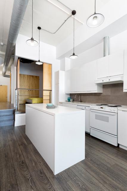 Photo loft industriel cuisine toronto par rad design inc - Cuisine loft industriel ...