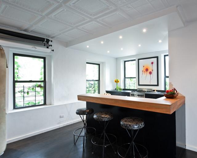 Photographer's Loft contemporary-kitchen