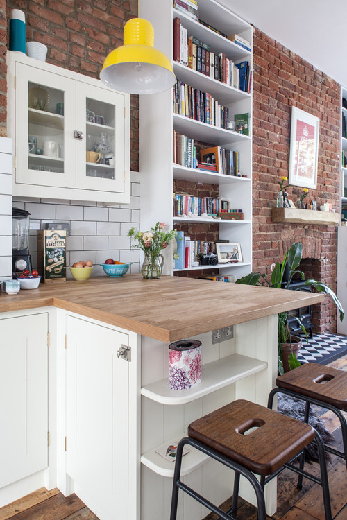 9 Ways To Make Islands And Breakfast Bars Work In Small Kitchens Part 44