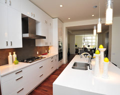 Piano White contemporary-kitchen