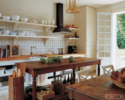 Pictures Of Country Kitchens Inspiring Rustic From Elle Dec Traditional Kitchen