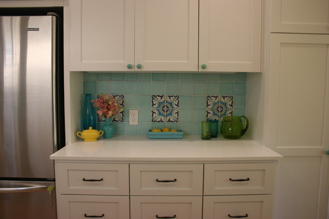 mediterranean kitchen by Fiorella Design