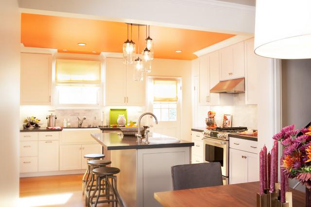Piedmont Tudor transitional-kitchen