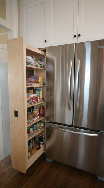 Pull out pantry by Detail A kitchen