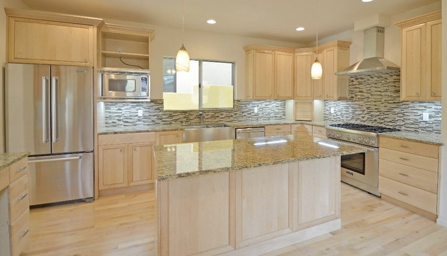 Pine Valley Mosaic Tile in Kitchen - Traditional - Kitchen ...