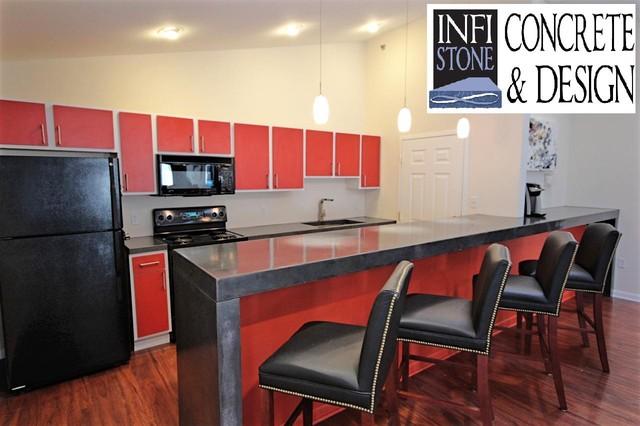 Pinebrook Lexington Ky Contemporary Kitchen Louisville By Infistone Concrete Design