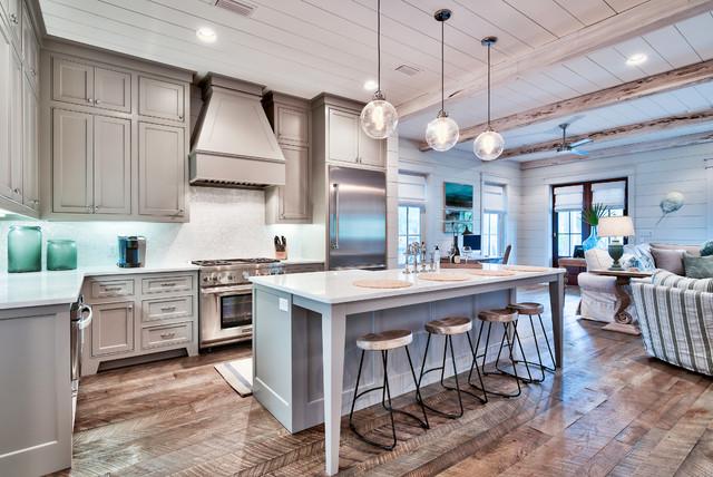 Ping Beach Style Kitchen Miami By Henderson Development And Design Llc