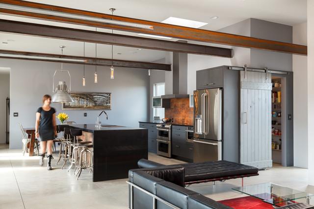Pino Avenue industrial-kitchen