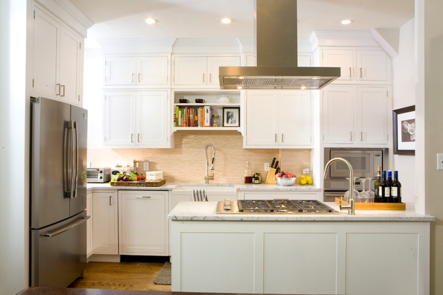 Good Inspiration For A Timeless U Shaped Kitchen Remodel In New York With  Stainless Steel Appliances