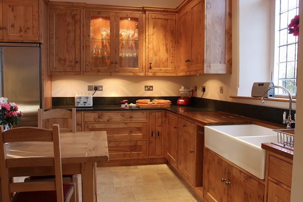 'Pippy Oak Classic' - Farmhouse - Kitchen - London - by ...