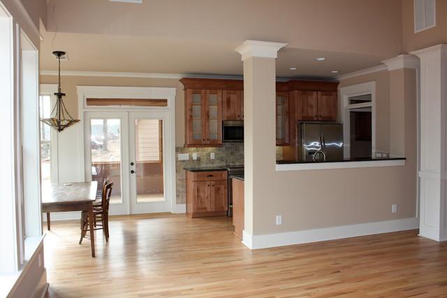 Pirkle Residence traditional-kitchen