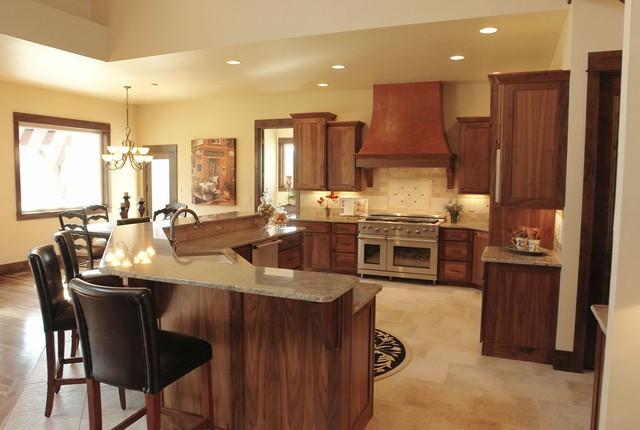 PJL Custom Homes Luxury Kitchens Traditional Kitchen Denver