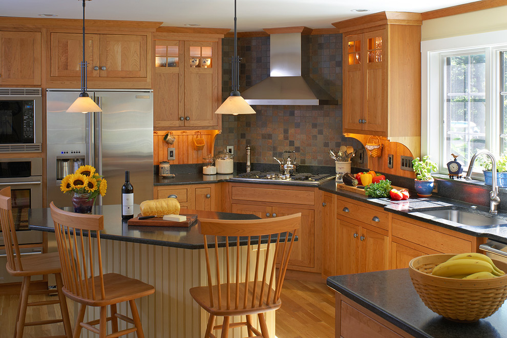 Plain and Fancy Cabinets - Traditional - Kitchen - New ...