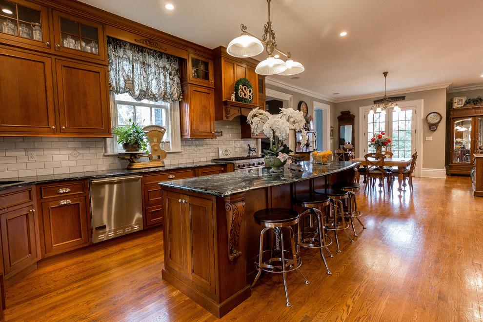Plain Fancy Kitchen Victorian Kitchen New York By Five Star Kitchens Houzz