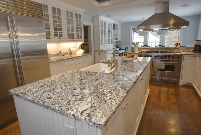 Plain but Fancy design - Contemporary - Kitchen - boston - by Select Stone