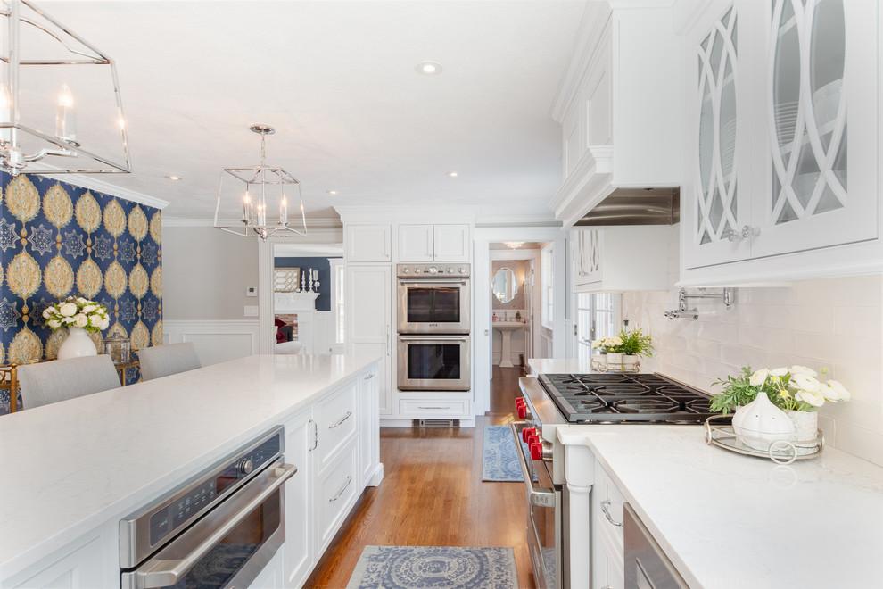 Plaistow NH Kitchen 2019 - Transitional - Kitchen - Boston ...