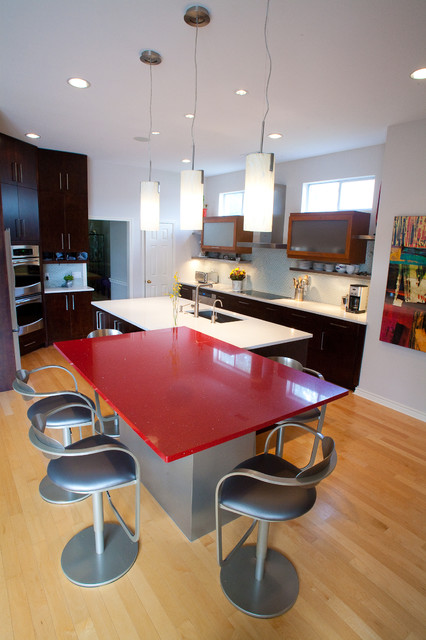 Two Islands Contemporary Kitchen Dallas By Kitchen Design Concepts