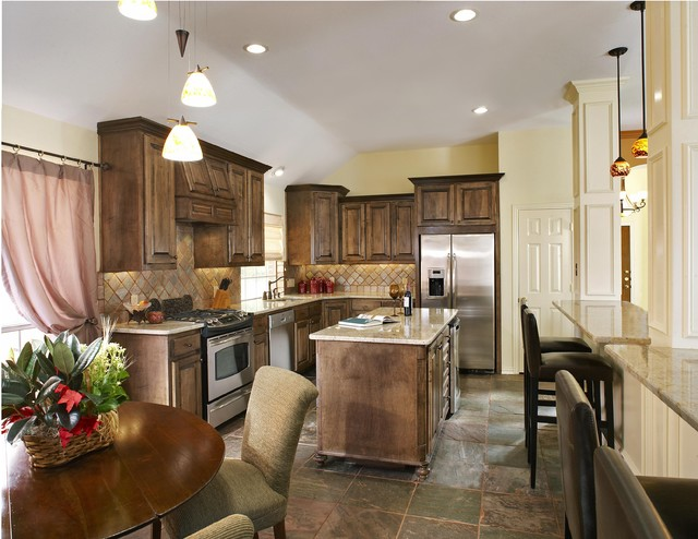 Plano Tx Kitchen Remodeling Traditional Kitchen Dallas By Usi Design Remodeling
