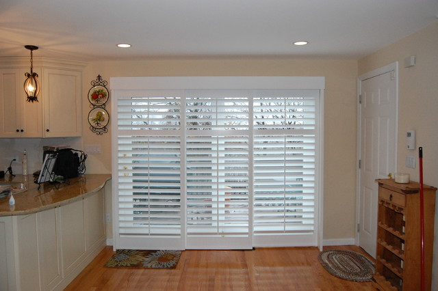 Plantation Shutters Traditional Kitchen Boston By
