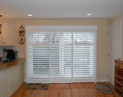 Plantation Shutters traditional kitchen