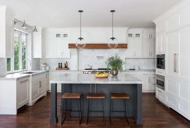 Merveilleux Plateau Updated Transitional Kitchen