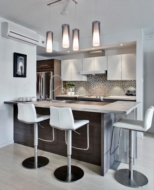 Kitchen Lighting Montreal: Platopolis Condominums