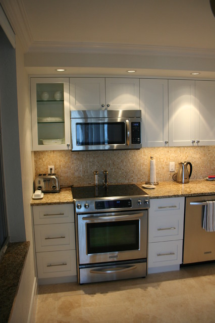 Plaza East and South contemporary-kitchen
