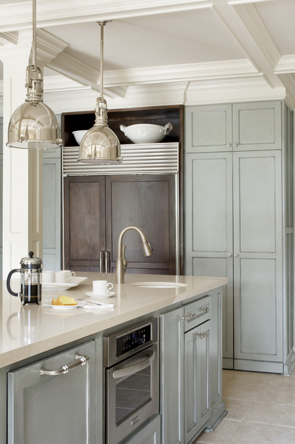 Pleasant Valley transitional-kitchen