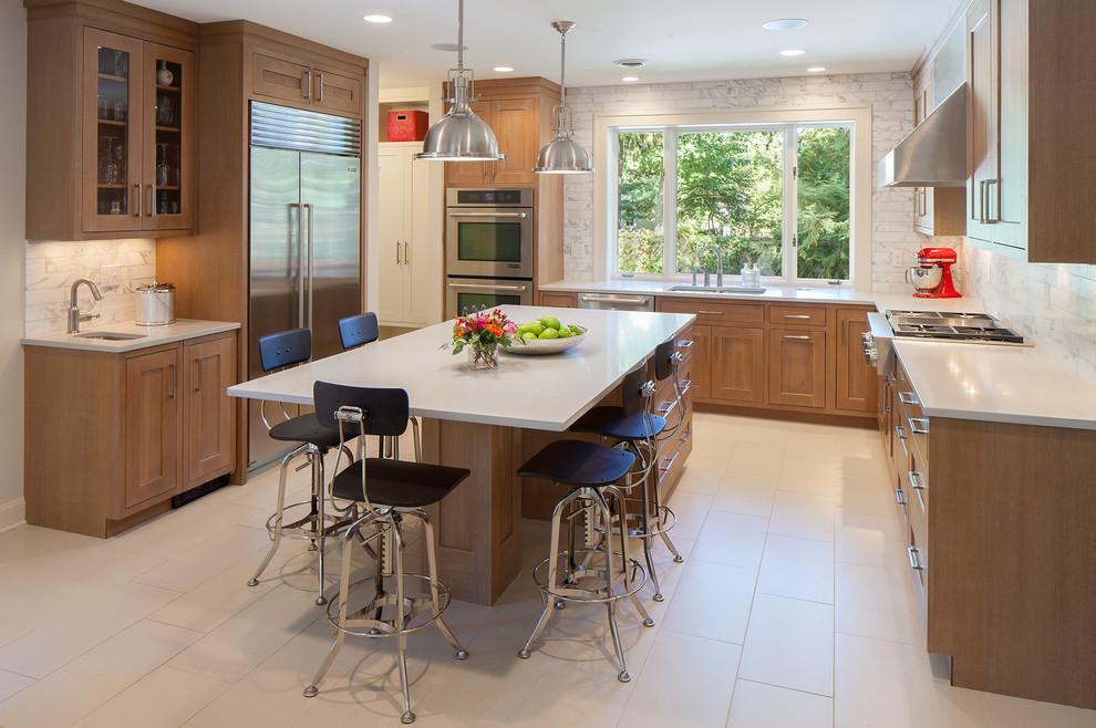 Plymouth Estate - Contemporary - Kitchen - Grand Rapids ...