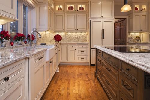 Western Warmth White Cabinet Kitchens