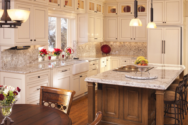 Inspiration For A Timeless Kitchen Remodel In Minneapolis With Farmhouse Sink Beaded Inset Cabinets
