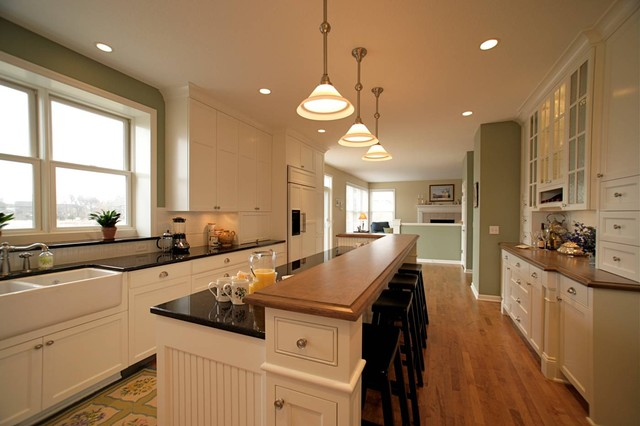 Plymouth Residence traditional-kitchen