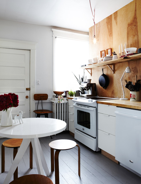 Plywood Kitchen - Contemporary - Kitchen - toronto - by Jenn Hannotte / Hannotte Interiors