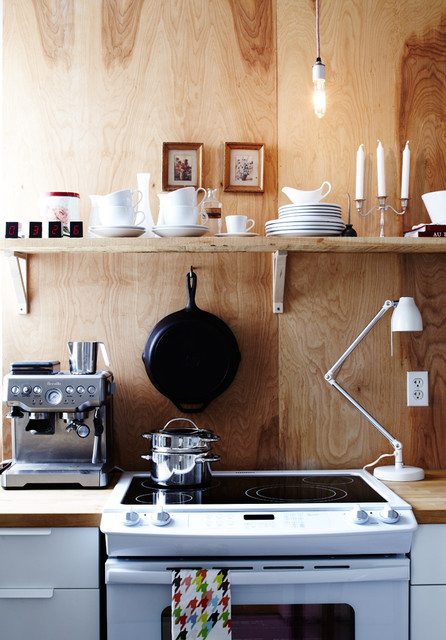 Plywood Kitchen contemporary-kitchen