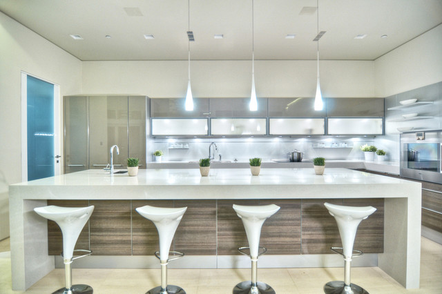 Modern Kitchen Counter Decor
