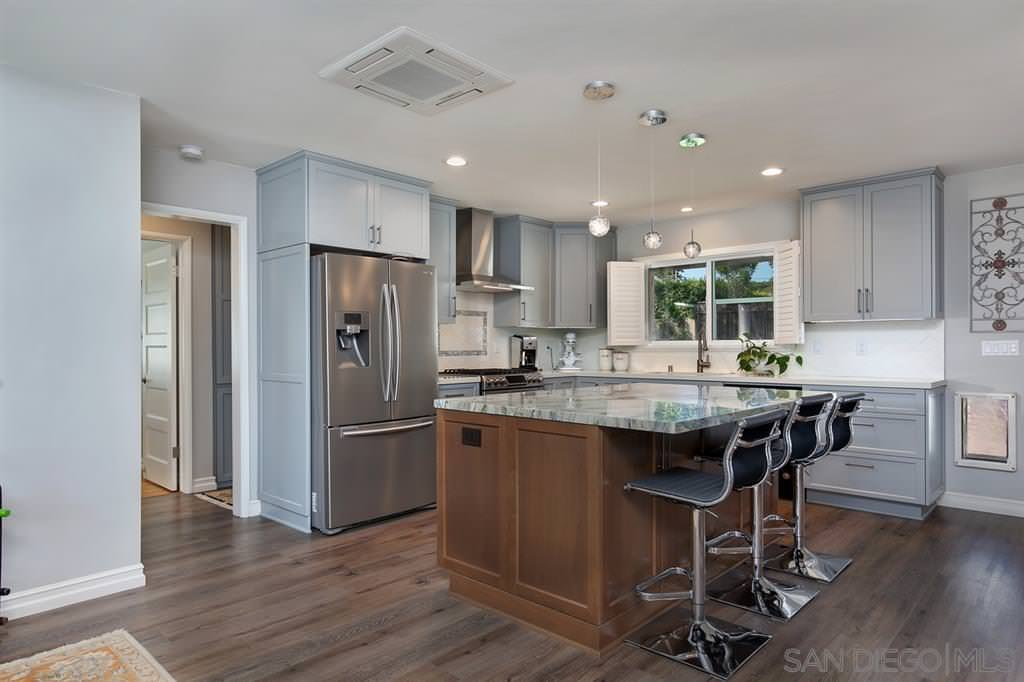 Point Loma Kitchen Remodel Relocated within Existing Space!
