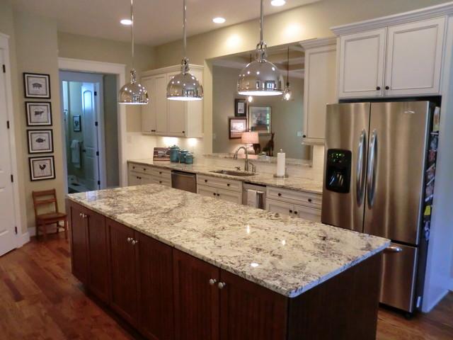 Polar white granite for Kitchen design richmond va