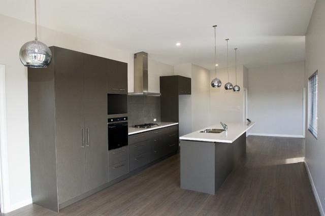 "Pole Home, Albany, Western Australia - HIA WA STATE 2014 ""Spec Home Of The Year"" contemporary-kitchen"
