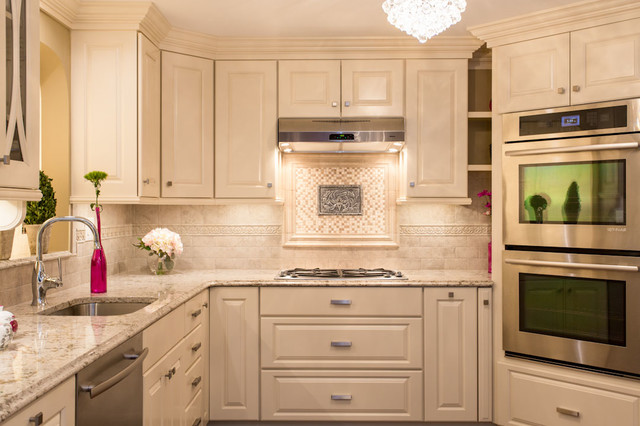 """""""Polished and Petite"""" traditional-kitchen"""