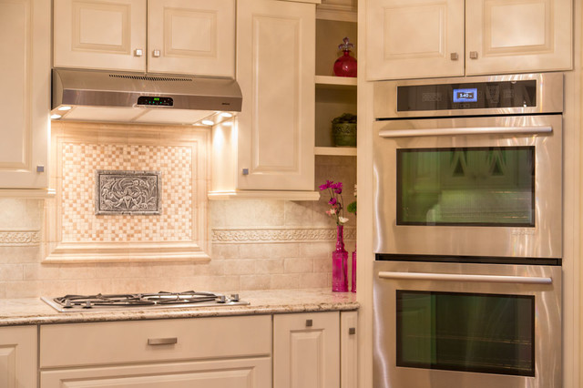 """Polished and Petite"" traditional-kitchen"