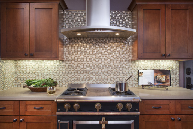 Polished Whimsy contemporary-kitchen