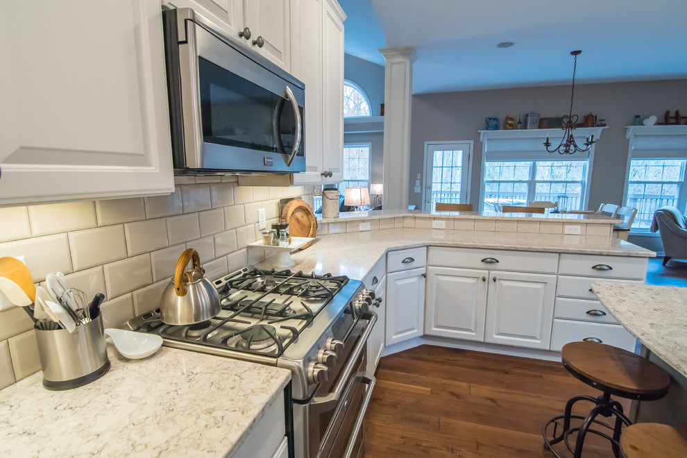 Polo Fields 1st Floor Remodel - Traditional - Kitchen ...