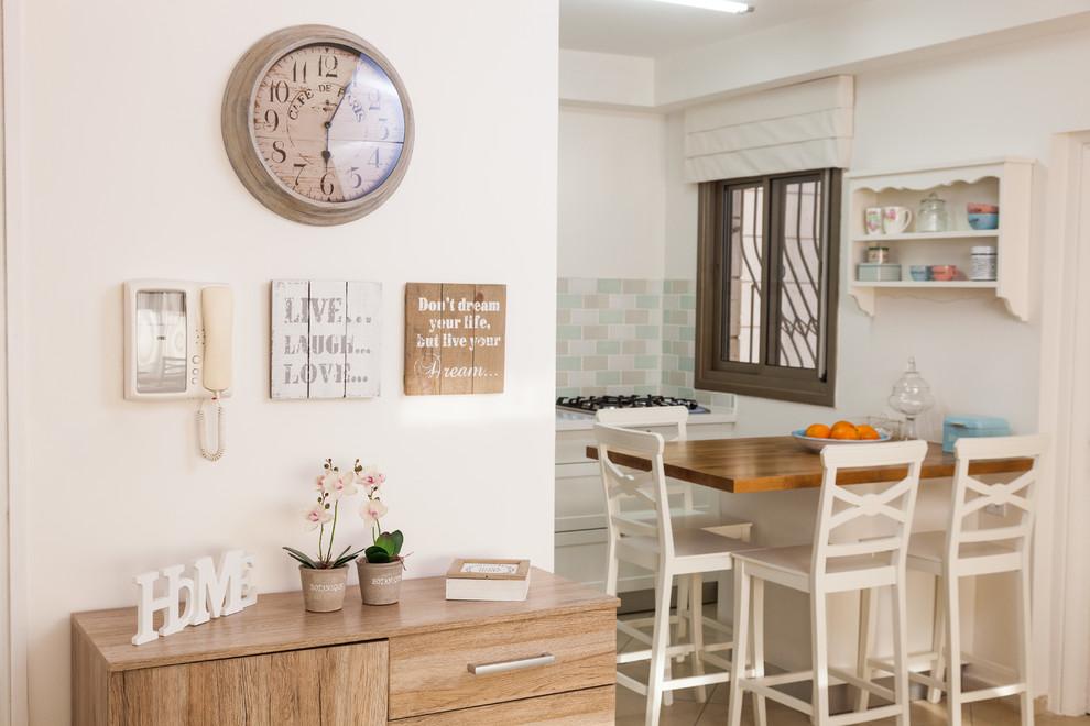 Polymer Kitchen Cabinet - Shabby-chic Style - Kitchen ...