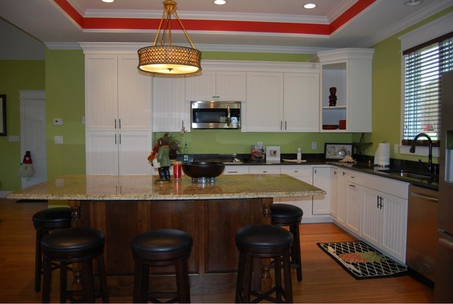 Pool House Kitchen Tropical Kitchen Nashville By Cayce Mill Design Center