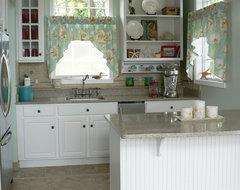 Pool House Kitchen tropical-kitchen