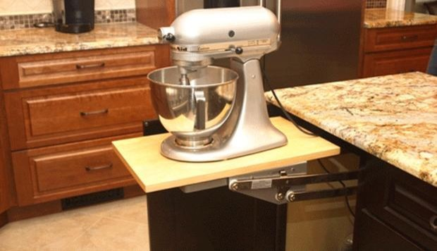 Pop up KitchenAid Mixer Stand - Transitional - New York - by ...