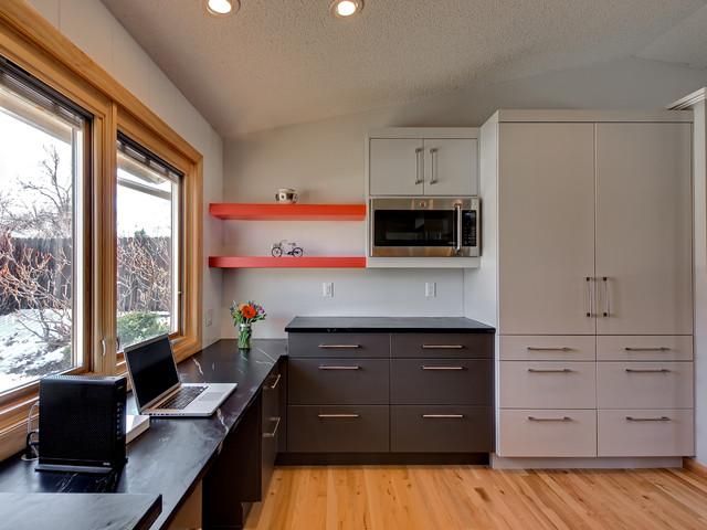 Pops of Color - Contemporary - Kitchen - Denver - by Sanctuary Kitchen and Bath Design