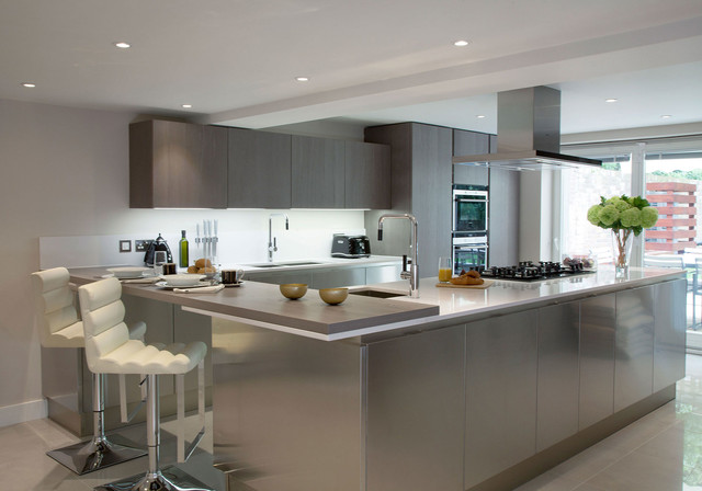 Porchester terrace bayswater kitchen other metro by for 10 porchester terrace