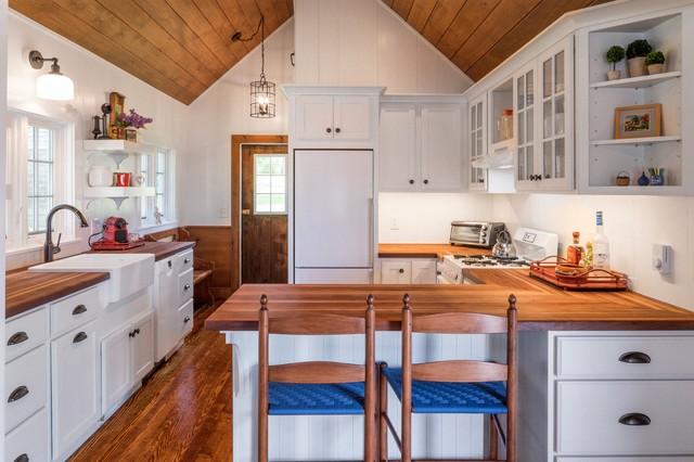 Port Clyde, Maine cottage renovation