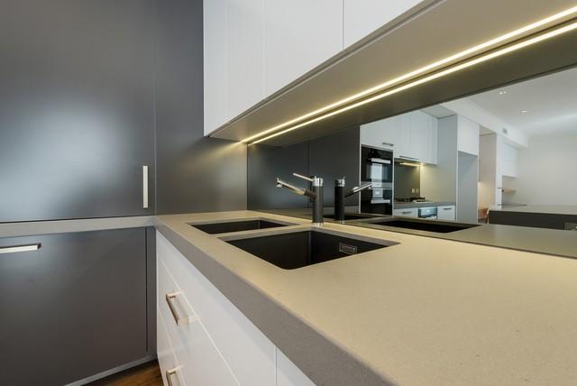 port melbourne residence 2 modern kitchen melbourne